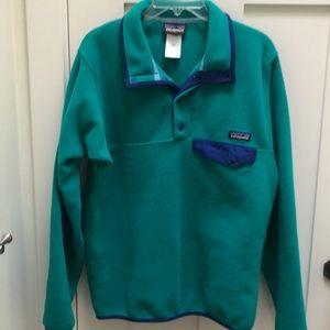 Men's Patagonia Synchilla Snap T fleece Pullover S
